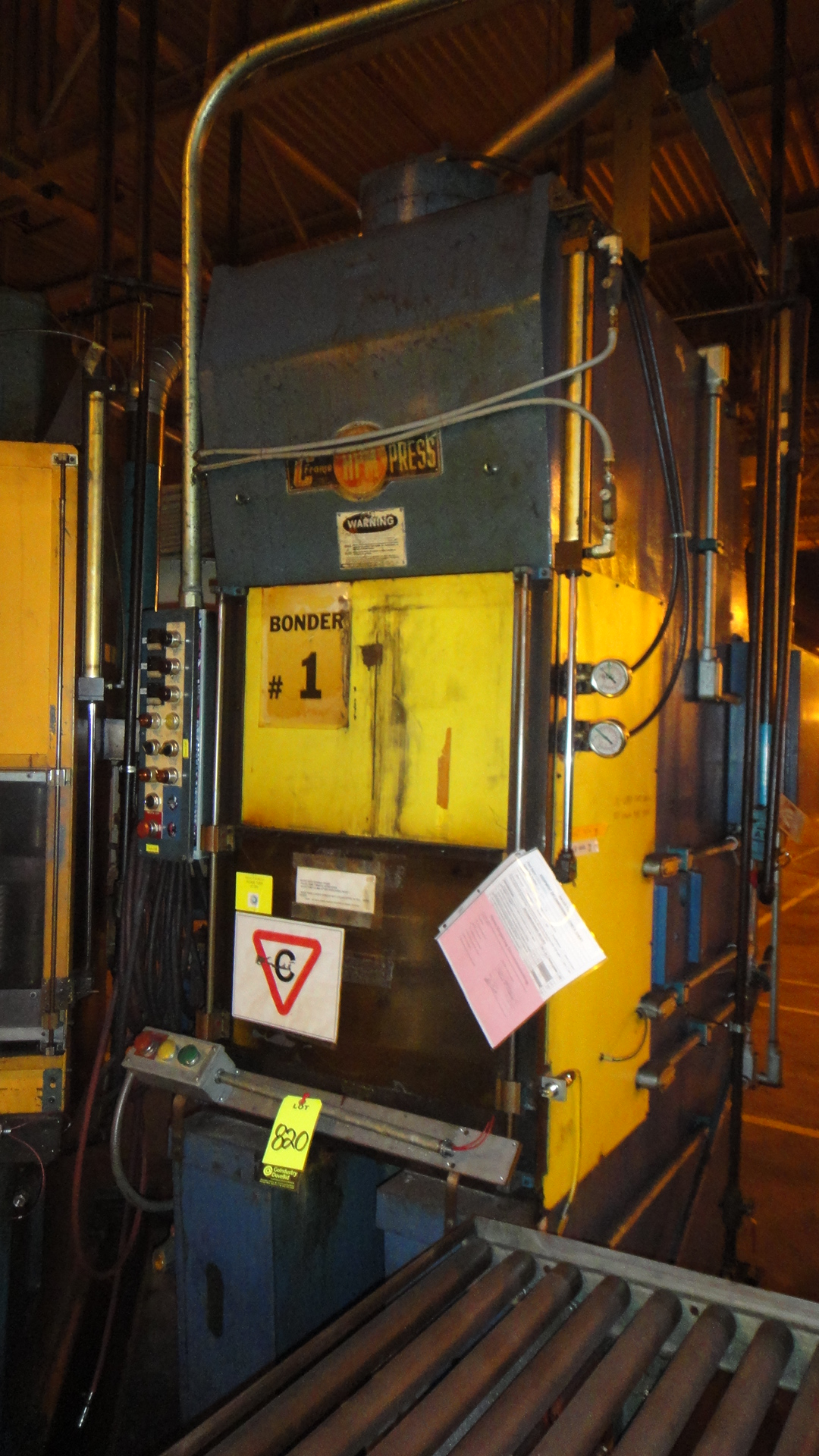 50 TON HPM HYDRAULIC PRESS