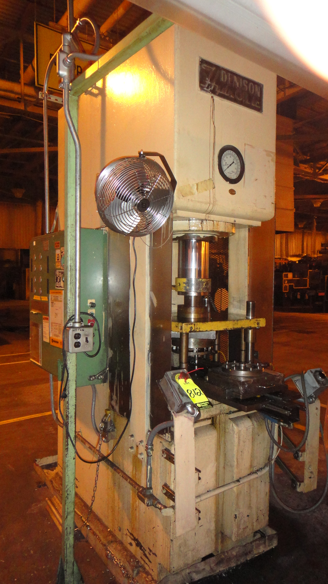 70 TON DENISON HYDRAULIC C FRAME PRESS