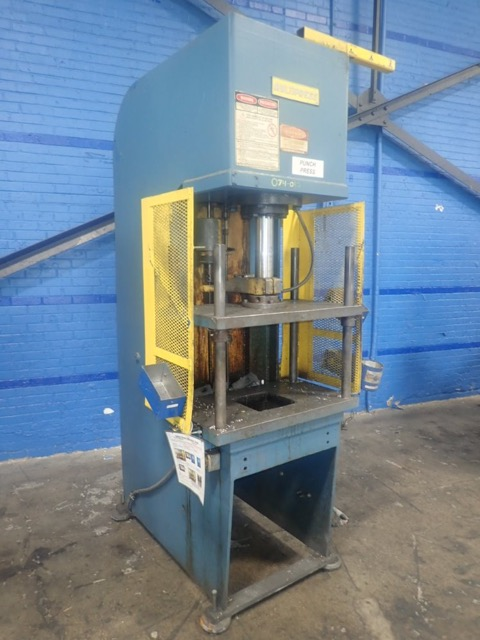 20 TON MULTIPRESS 4 POST GUIDED RAM C FRAME PRESS