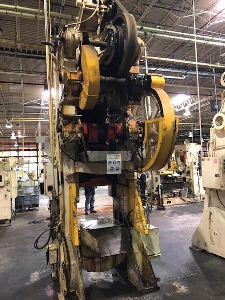 400 TON BLISS KNUCKLE JOINT PRESS