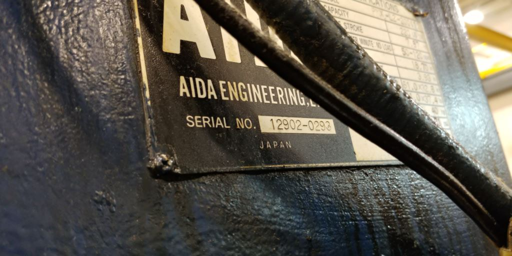 220 TON AIDA SSDC LINK DRIVE PRESS