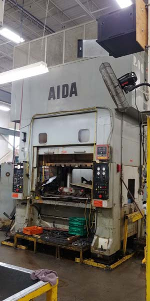 220 TON AIDA SSDC LINK DRIVE PRESS