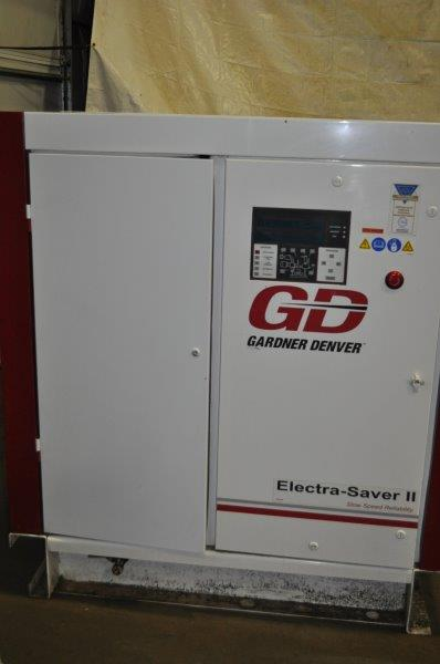 100 HP GARDNER DENVER ROTARY SCREW AIR COMPRESSOR