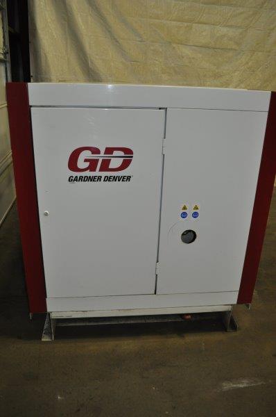 100 HP GARDNER DENVER ROTARY SCREW AIR COMPRESSOR