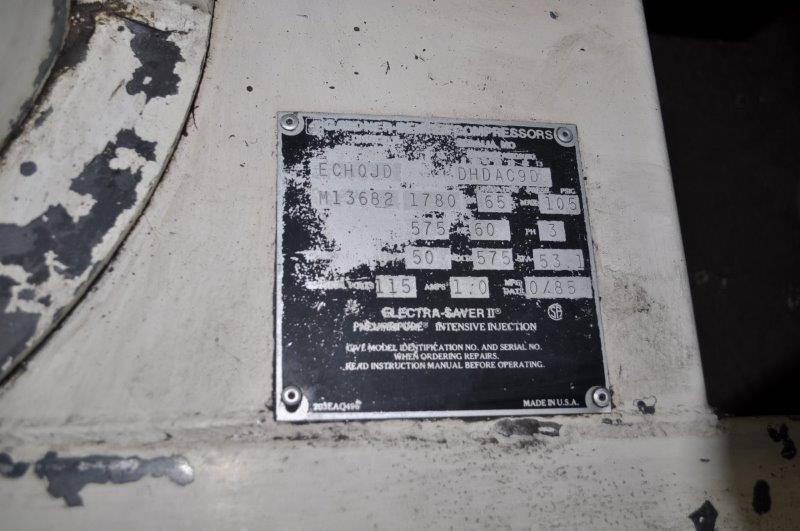 50 HP GARDNER DENVER ELECTRA SAVER II ROTARY SCREW AIR COMPRESSOR