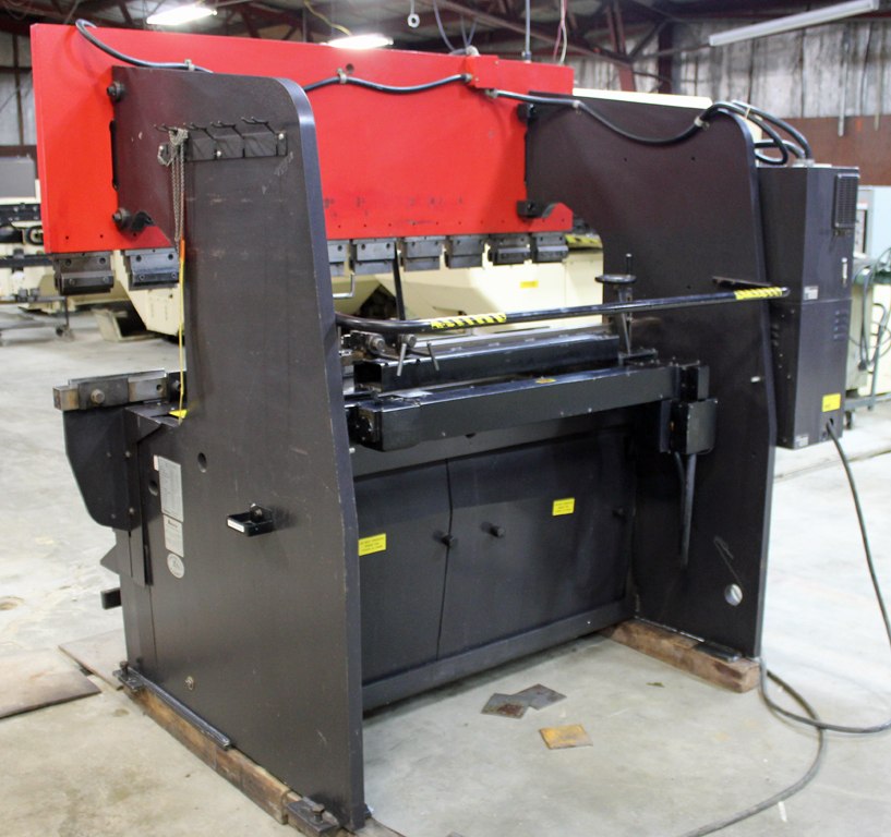 50 TON AMADA HYDRAULIC UP-ACTING HYDRAULIC PRESS