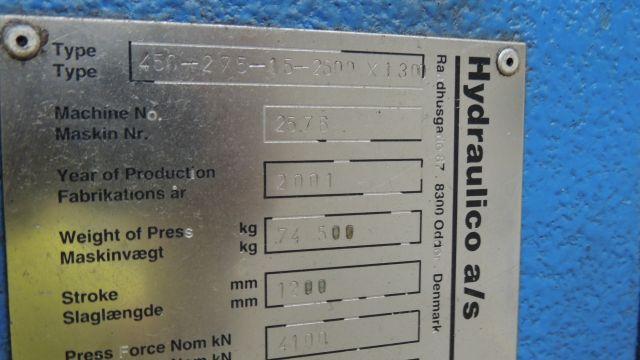 450 TON HYDRAULICO HYDRAULIC PRESS