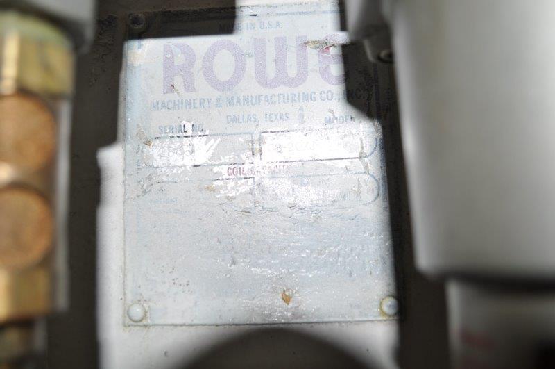 "8000 x 20"" x .225 ROWE COIL CRADLE STRAIGHTENER"
