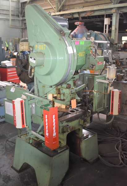 15 TON PERKINS HIGH SPEED GAP FRAME PRESS