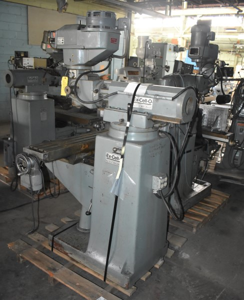 """9"""" x 48"""" EXCELLO VERTICAL MILL"""