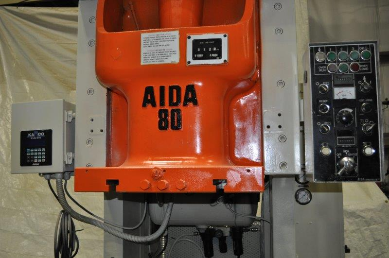 88 TON AIDA GAP FRAME PRESS