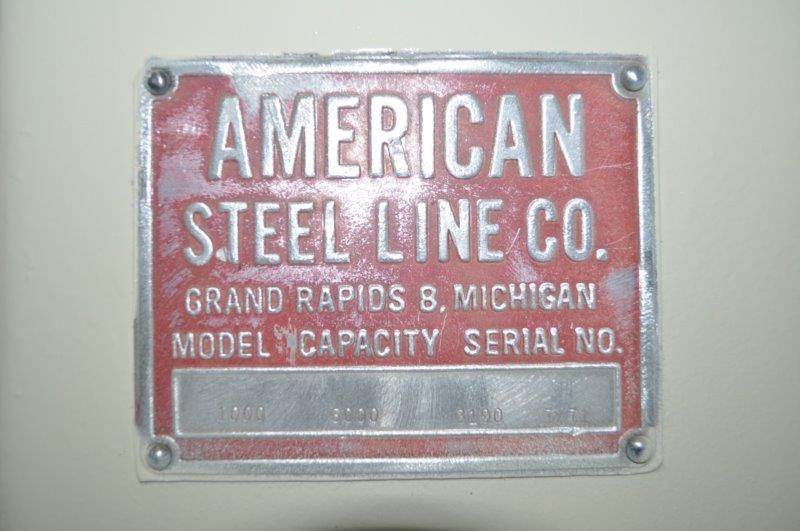 "6000 LB x 40"" AMERICAN STEEL LINE MOTORIZED UNCOILER"