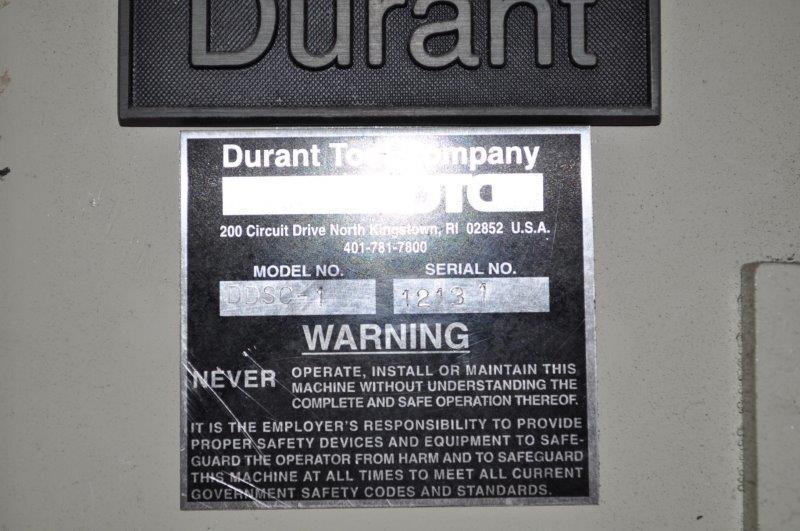 """600 LB x 10"""" DURANT NON MOTORIZED  DOUBLE END UNCOILER"""