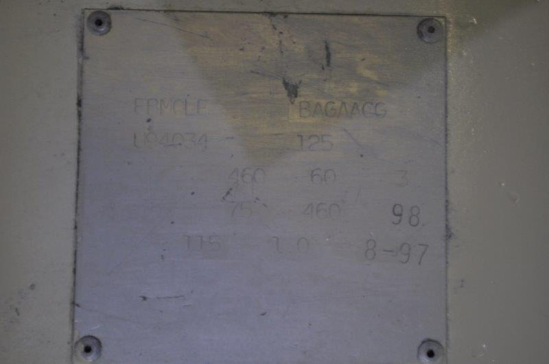 75 HP GARDNER DENVER ELECTRA SAVER AIR COMPRESSOR