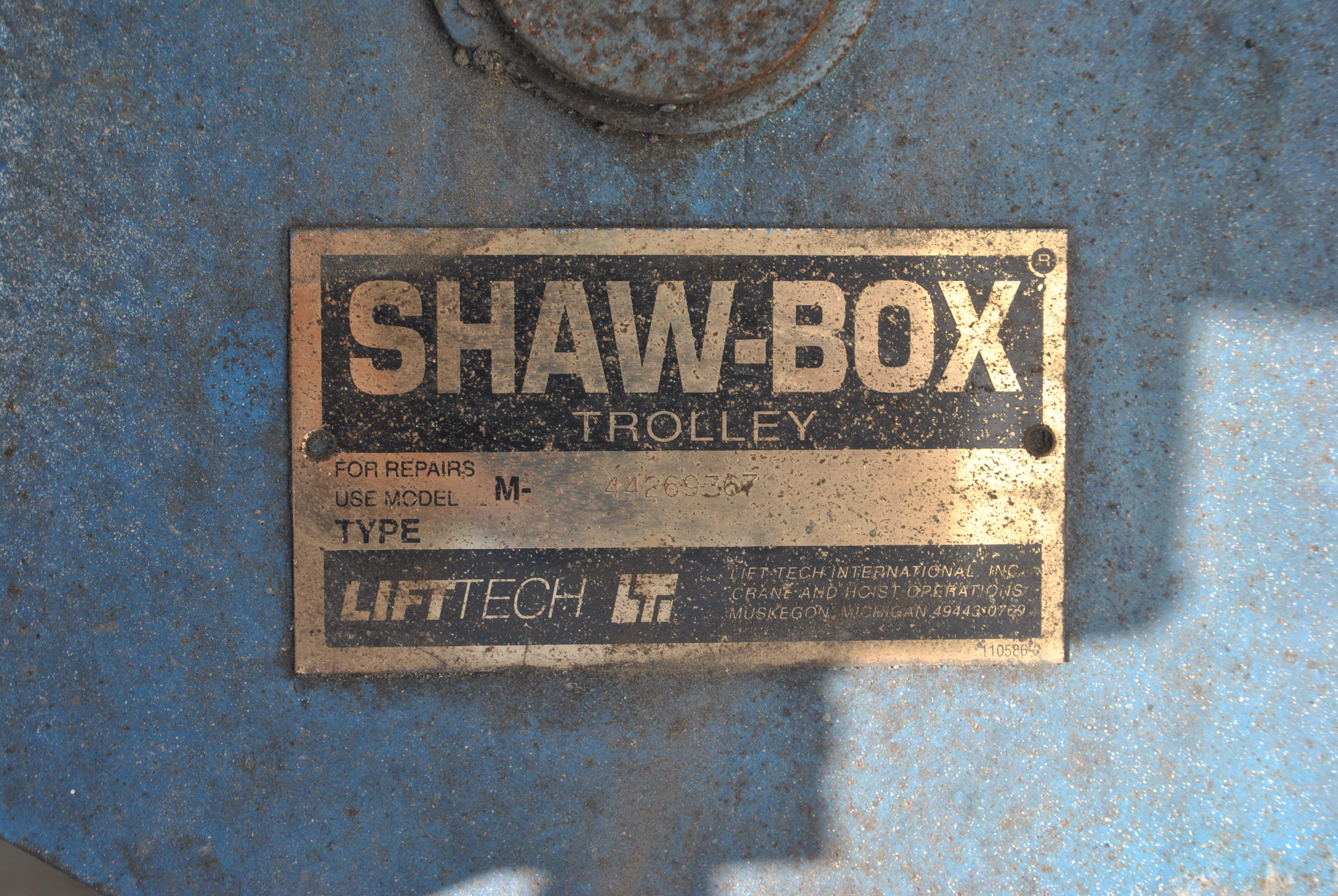 7.5 TON SHAW BOX HOIST