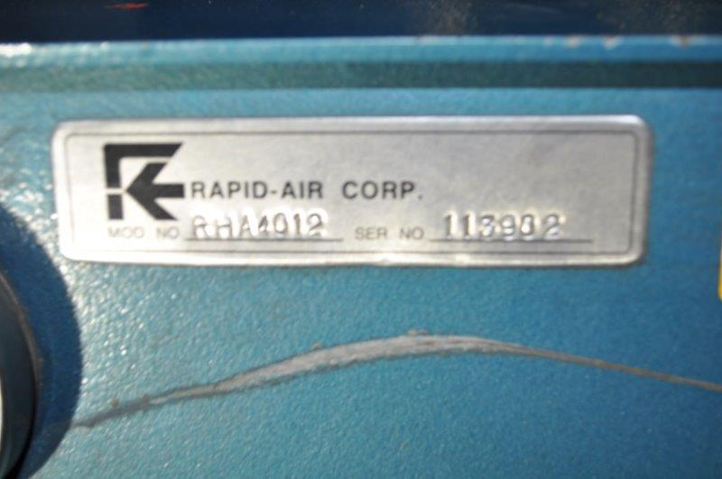 "4000 LB x 12"" RAPID AIR MOTORIZED UNCOILER"