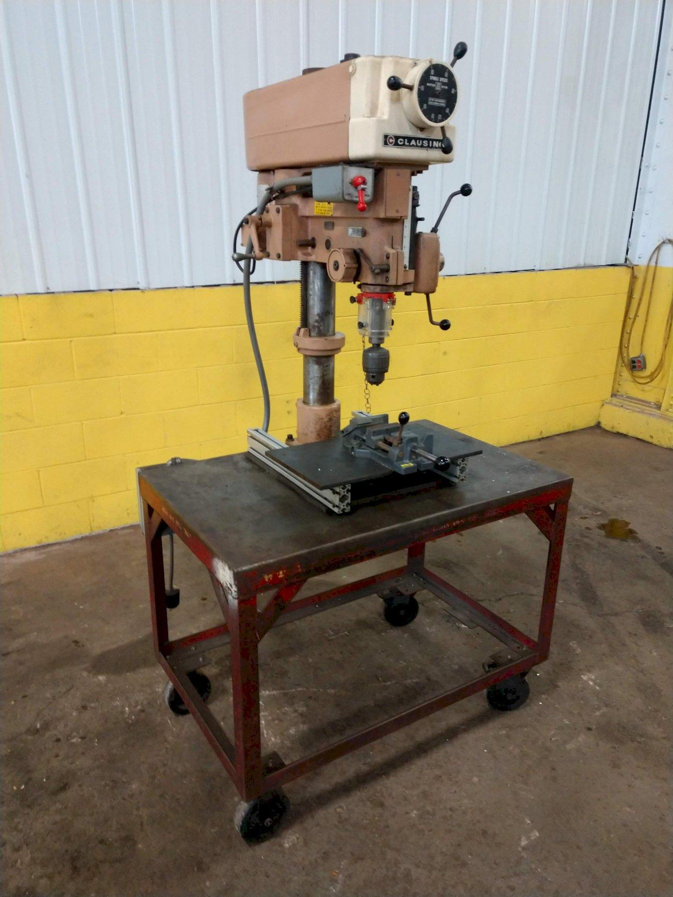 "20"" CLAUSING MODEL #2286 SINGLE SPINDLE  DRILL PRESS: STOCK #13599"