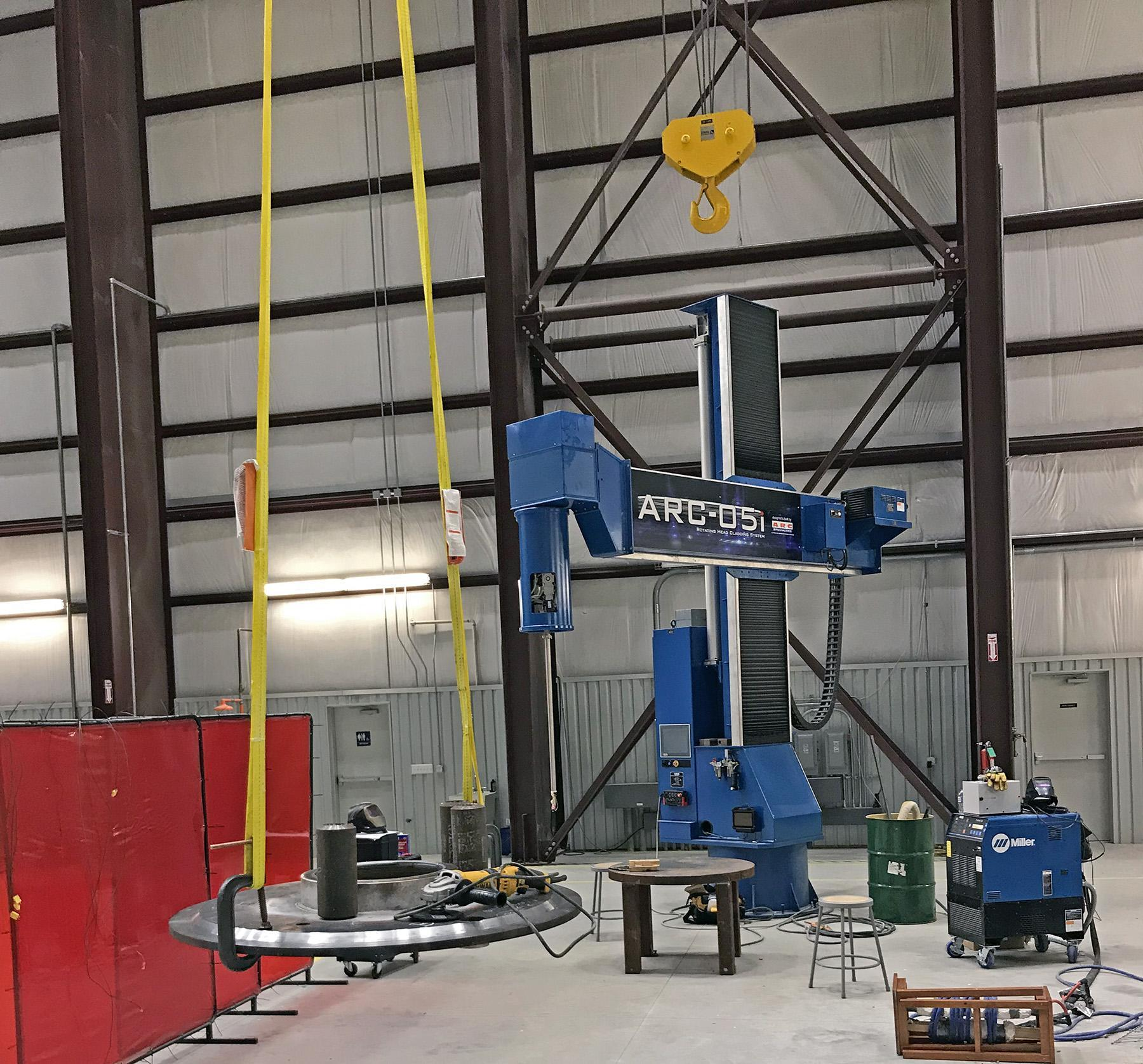 USED, ARC-05i ROTATING HEAD CLADDING SYSTEM
