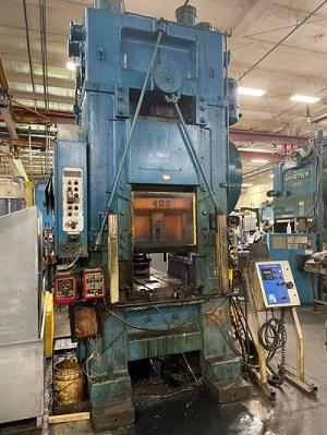400 TON MINSTER MODEL 90-400 KNUCKLE JOINT PRESS: STOCK #15387
