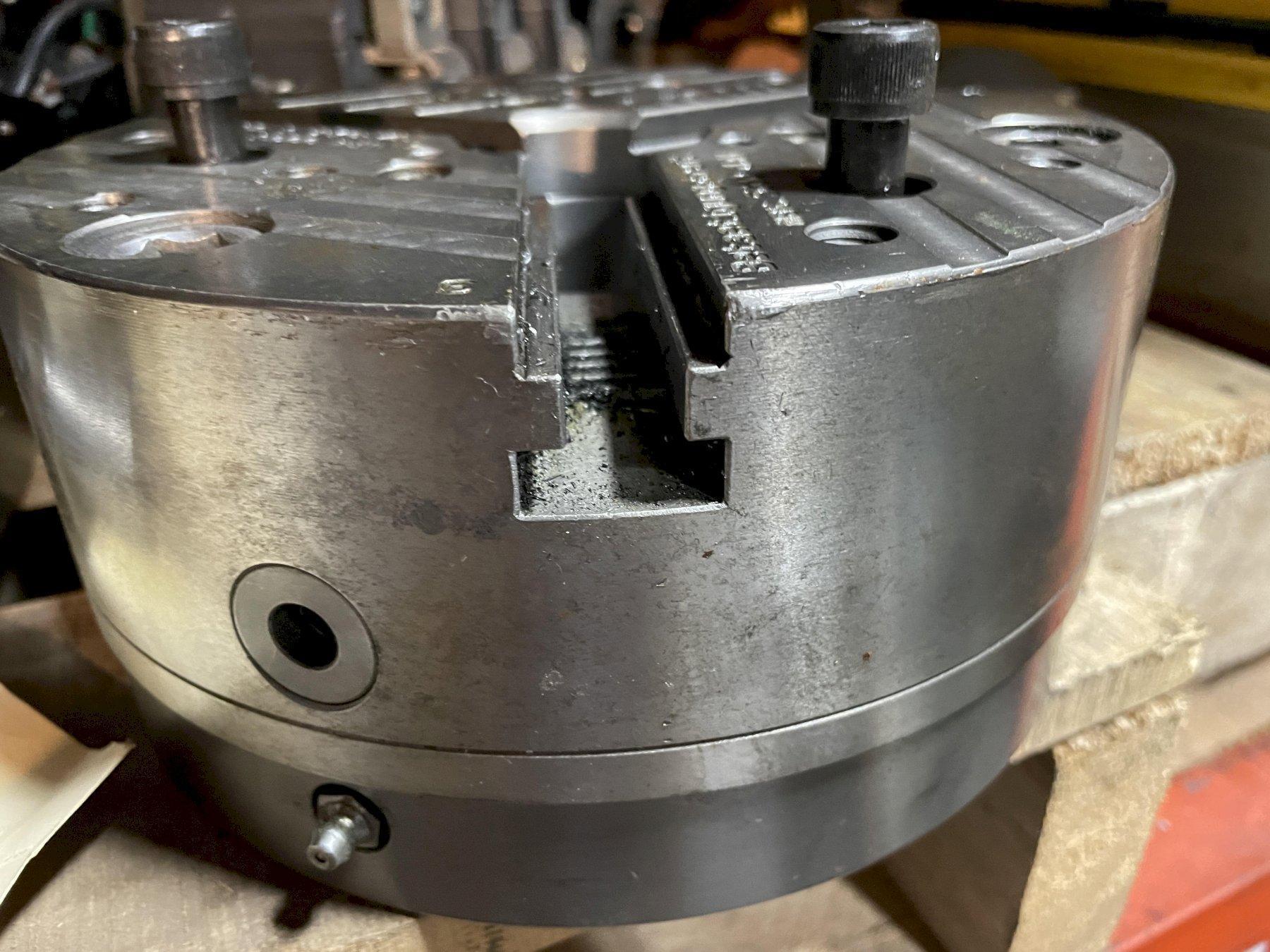 """8-1/4"""" SMW 3-JAW CHUCK, MODEL KNC S 210-45, SN090005, MAX 5000 RPM."""