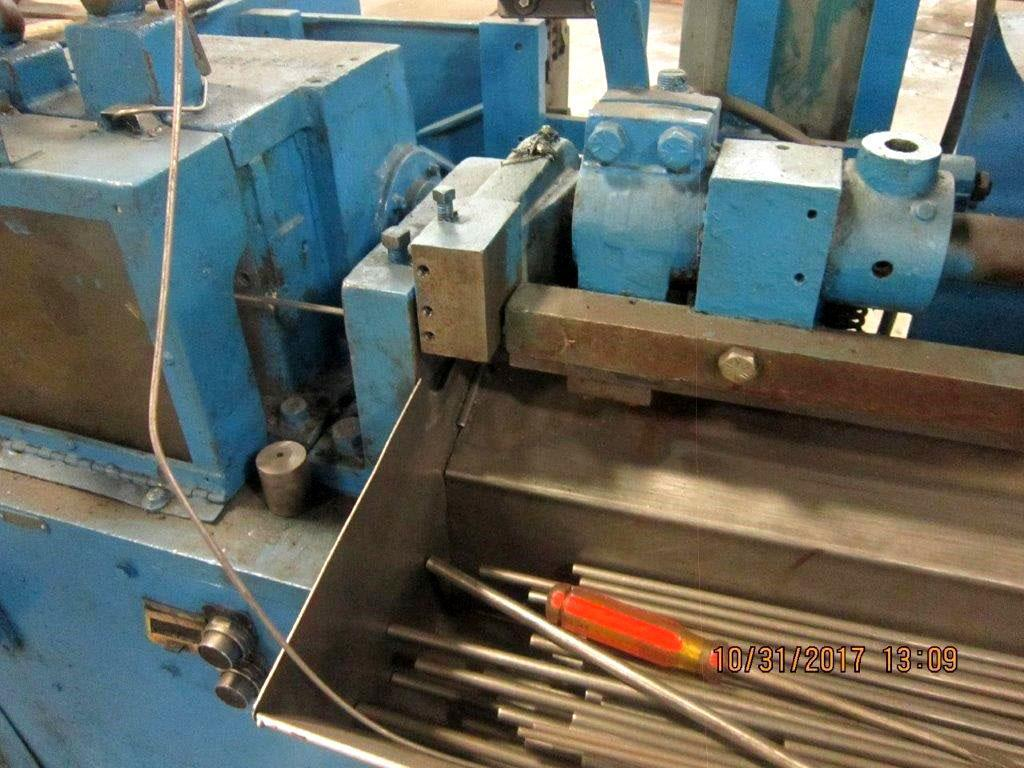 "5/16""  Shuster Model 2A4V Wire Straighten & Cut Machine"