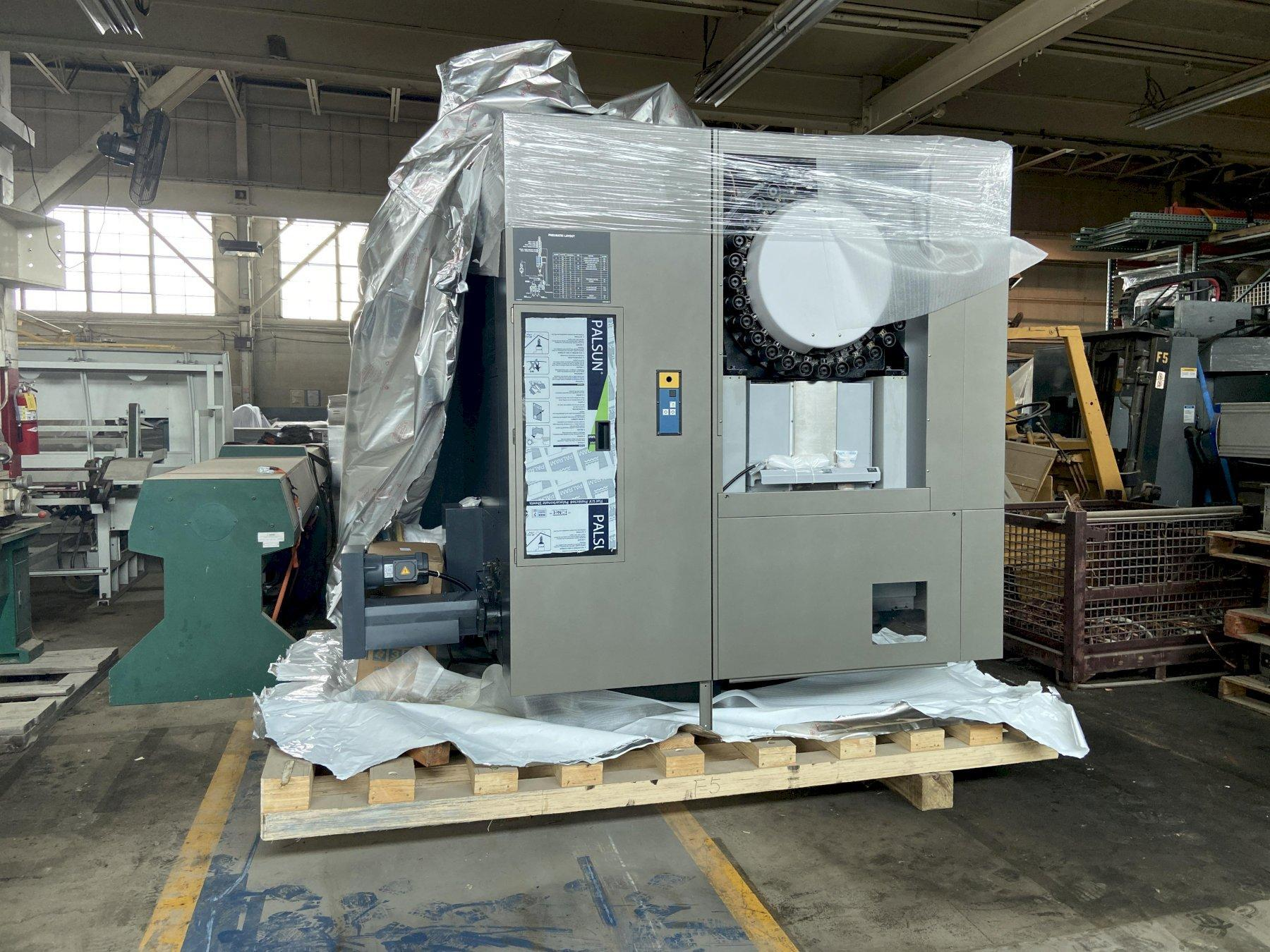 """Makino F5 CNC Vertical Machining Center, Pro 5 Control, 35""""/20""""/18"""" Travels, 20K Spindle, 30 ATC, Scales, Blum Laser and Probe, Graphite Package, New-In-Crate, 2019"""