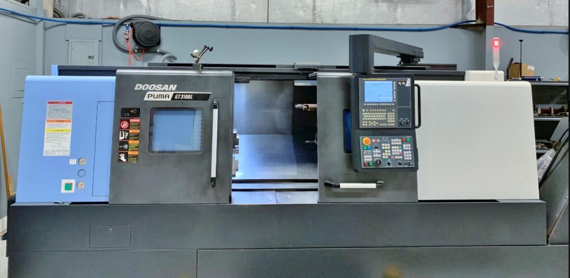 Doosan Puma GT3100L CNC Horizontal Lathe