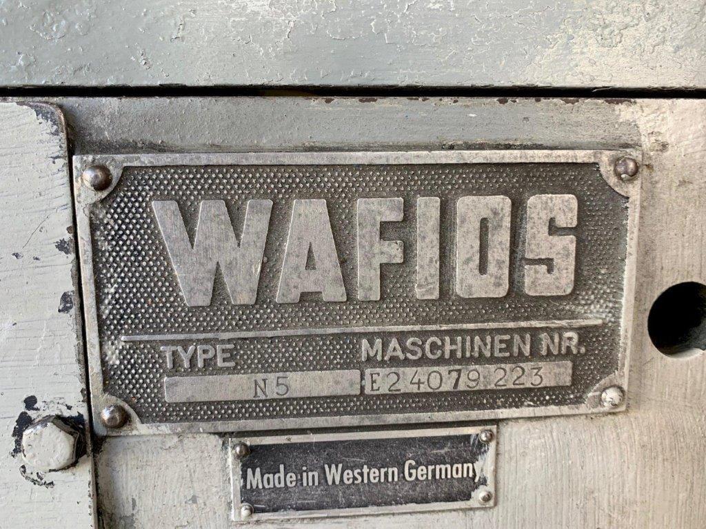Wafios Model N5 High Speed Nail Header