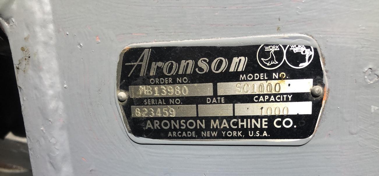 1000 LB ARONSON  SC1000 AUTO BALANCE POSITIONER