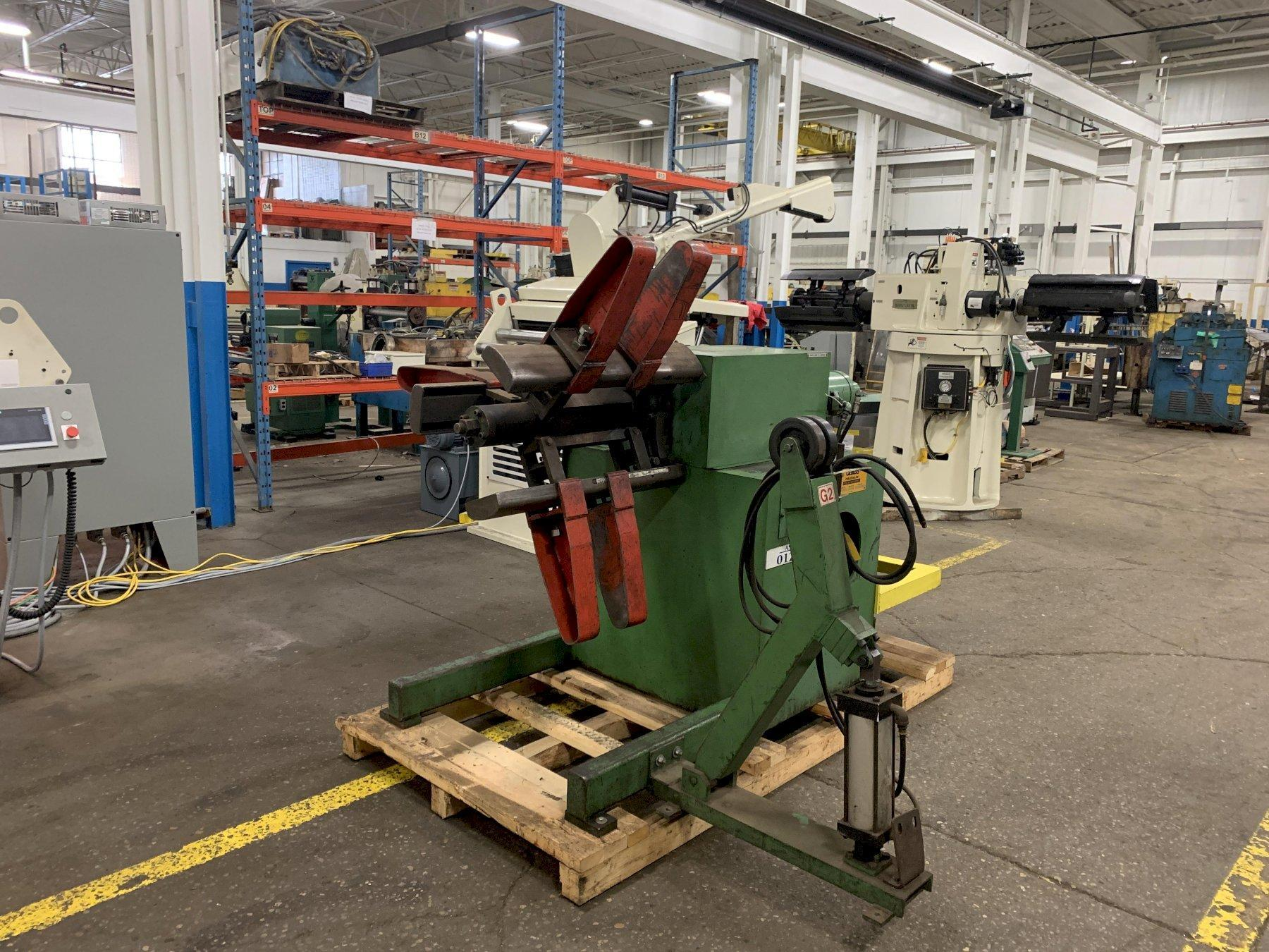 20,000 lbs Littell Pull Off Reel Model S200-36 with Coil Car