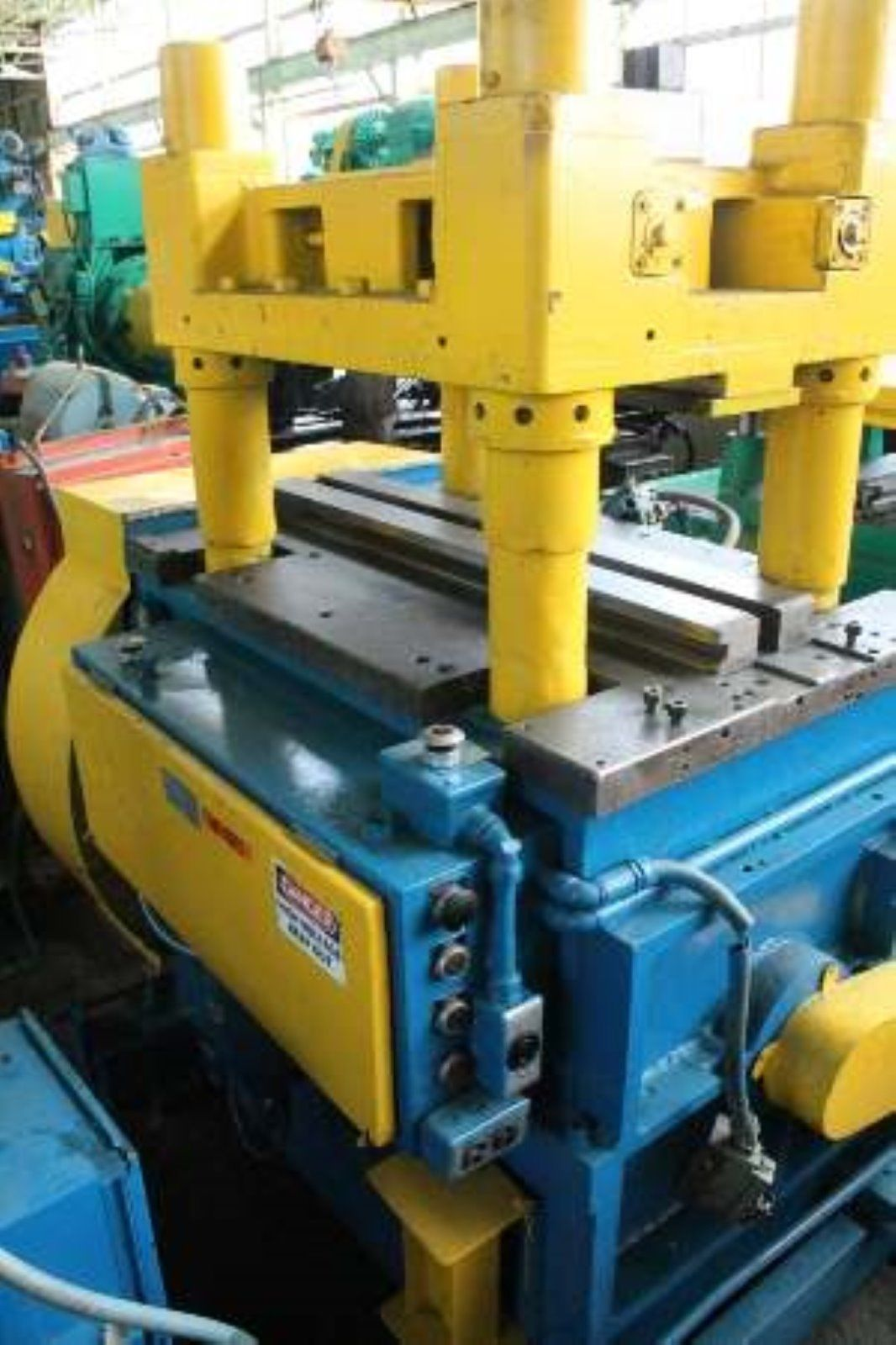 50 Ton Alpha Cutoff Press