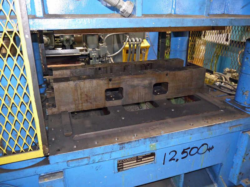 60 Ton Pro Eco Cutoff Press