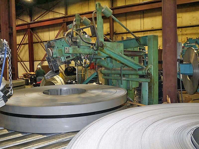 "10,000# x 72"" Signode/Loopco Coil Banding Line"