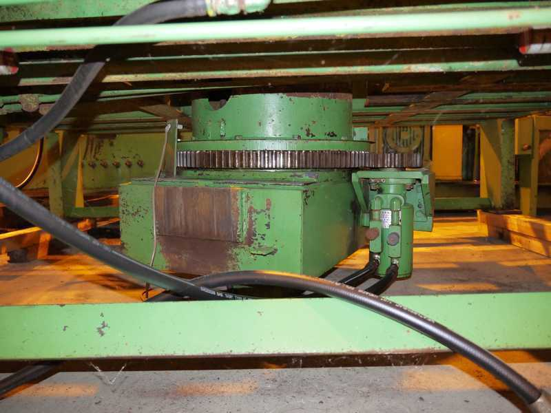 """20,000# x 72"""" Loopco Coil Banding Table"""