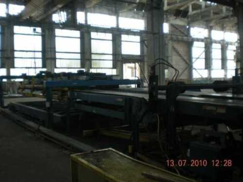 "96"" x 0.375"" x 40,000# Herr Voss Coil Cut To Length Line"