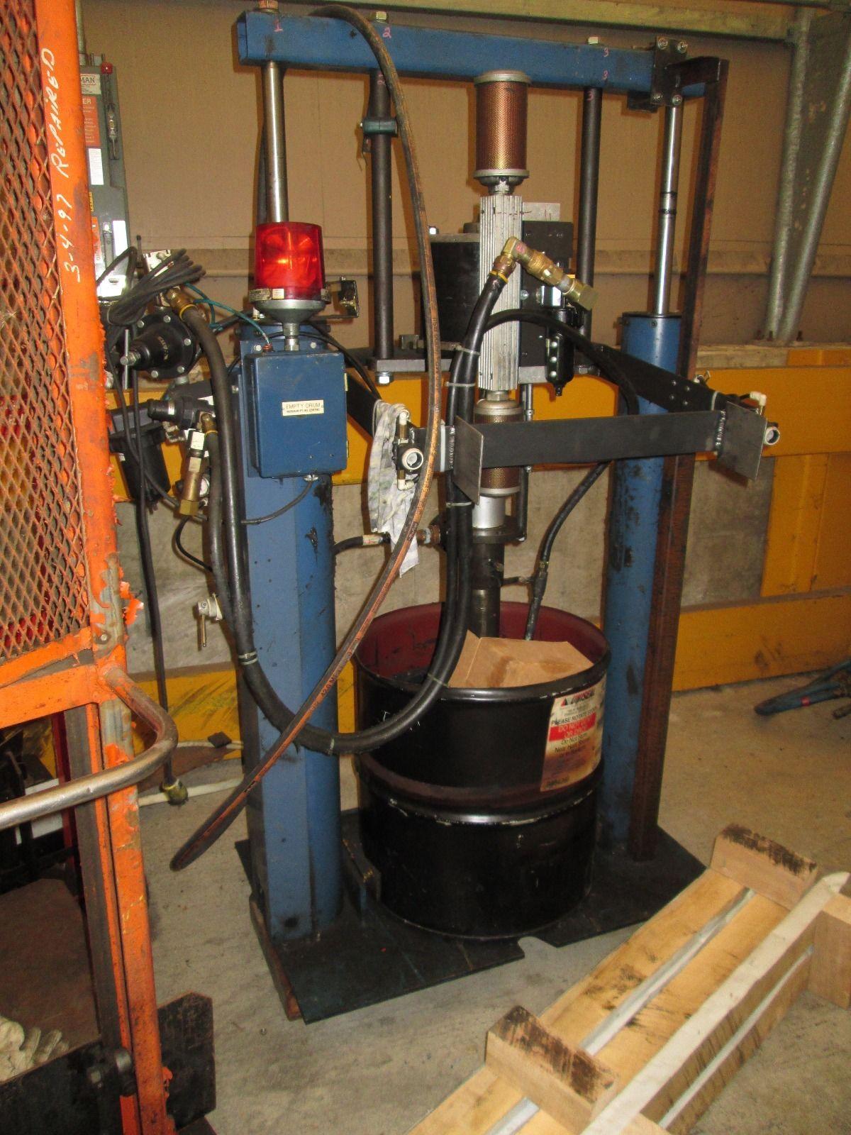 55 Gallon Drum Industrial Grease Pump