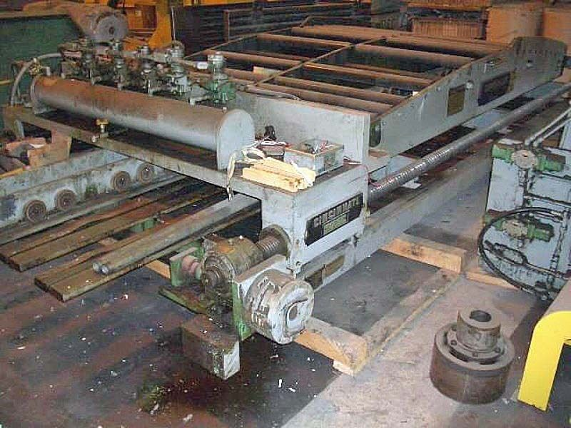 "Cut To Length Line Components, Cincinnati, 72"" Wide"