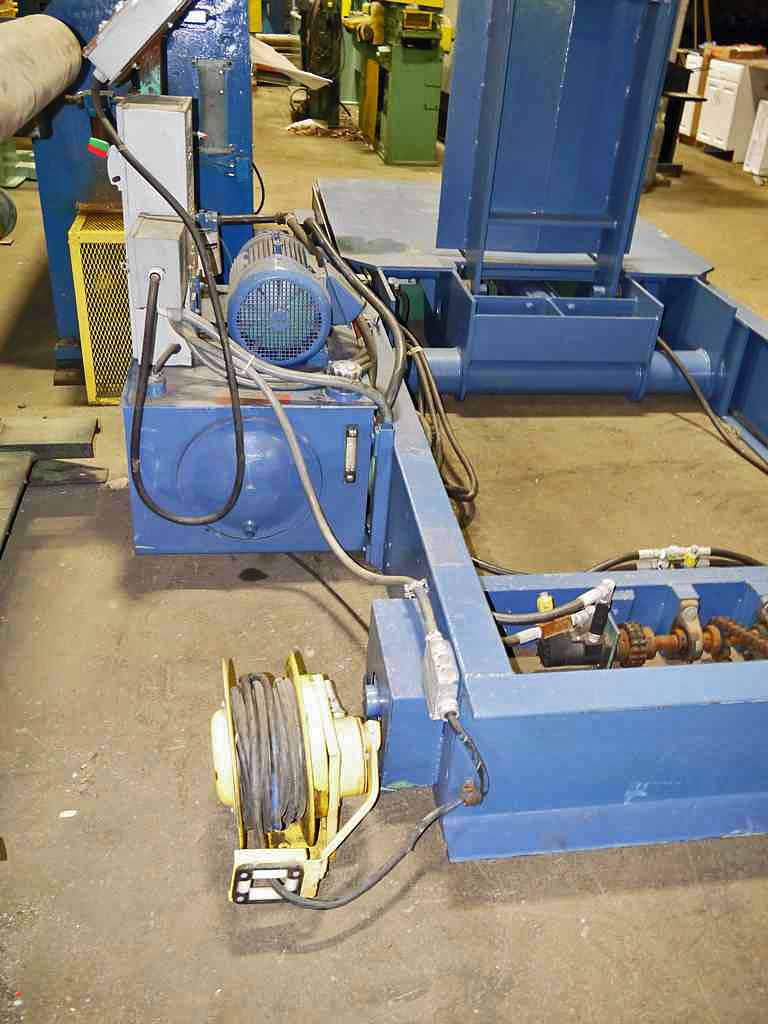 Braner Combination Upender/Coil Car
