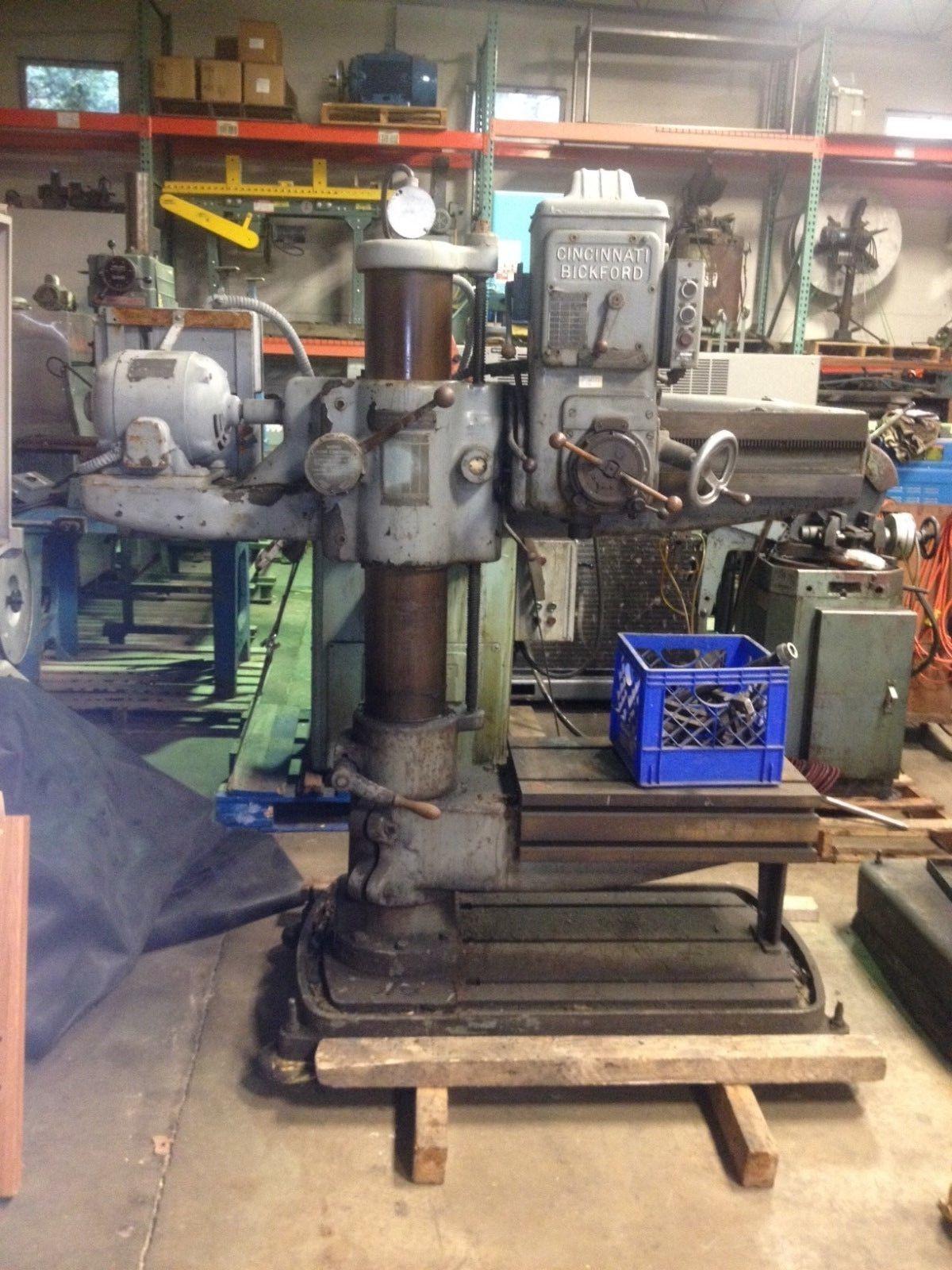 Cincinnati Bickford Radial Drill