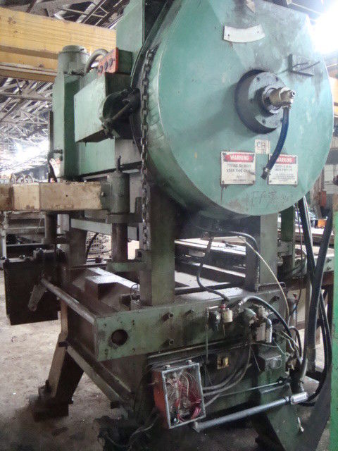 60 Ton Oak Fin Press Line