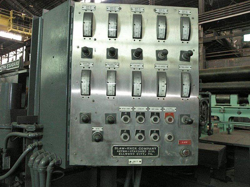 "66"" x 0.080"" Blaw Knox/Aetna Standard Precision Leveler"