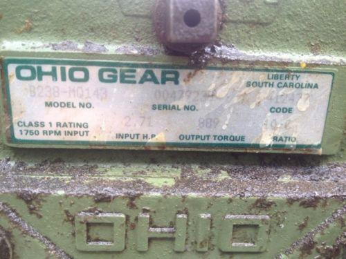 Gear Motor 2 HP