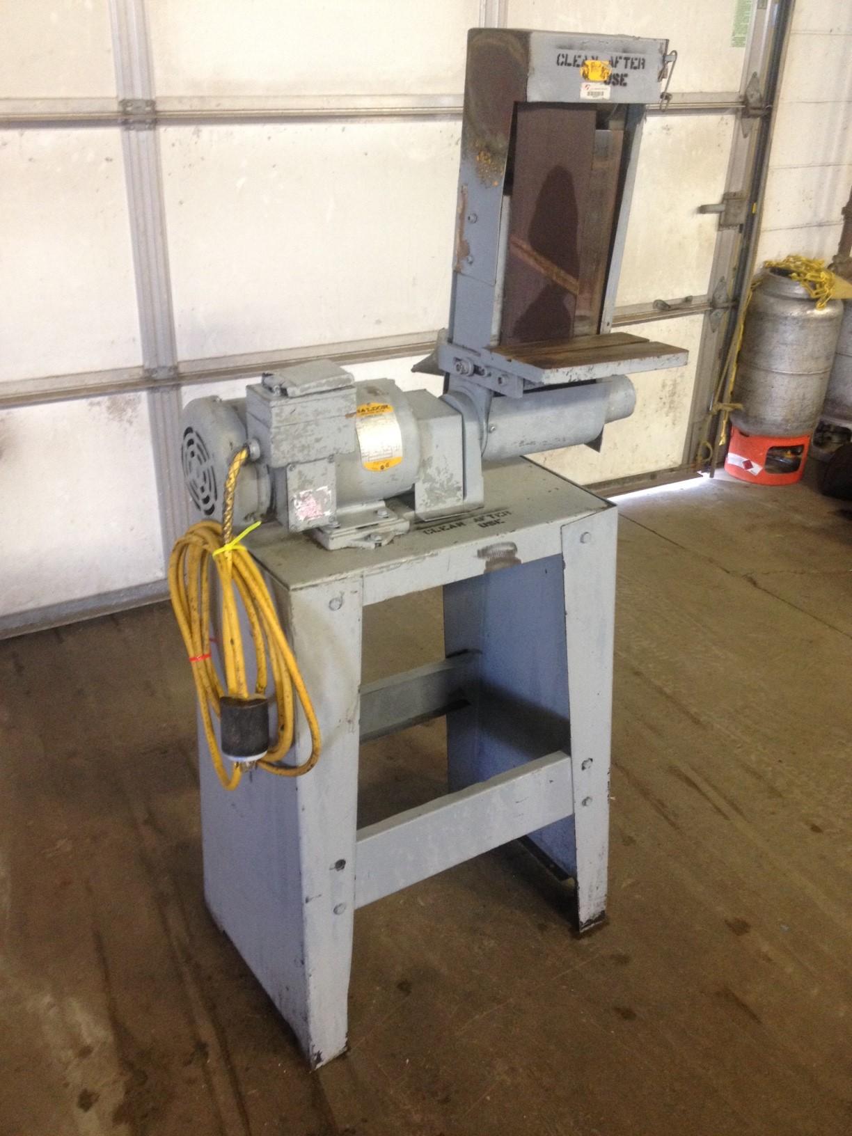 JAC Industrial Belt Sander 6