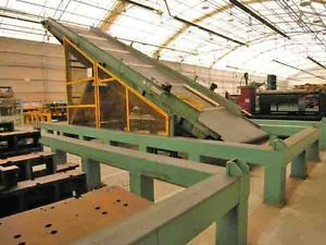 INDUSTRIAL DEVELOPMENT SYSTEMS INC.LARGE INCLINE CONVEYOR BELT