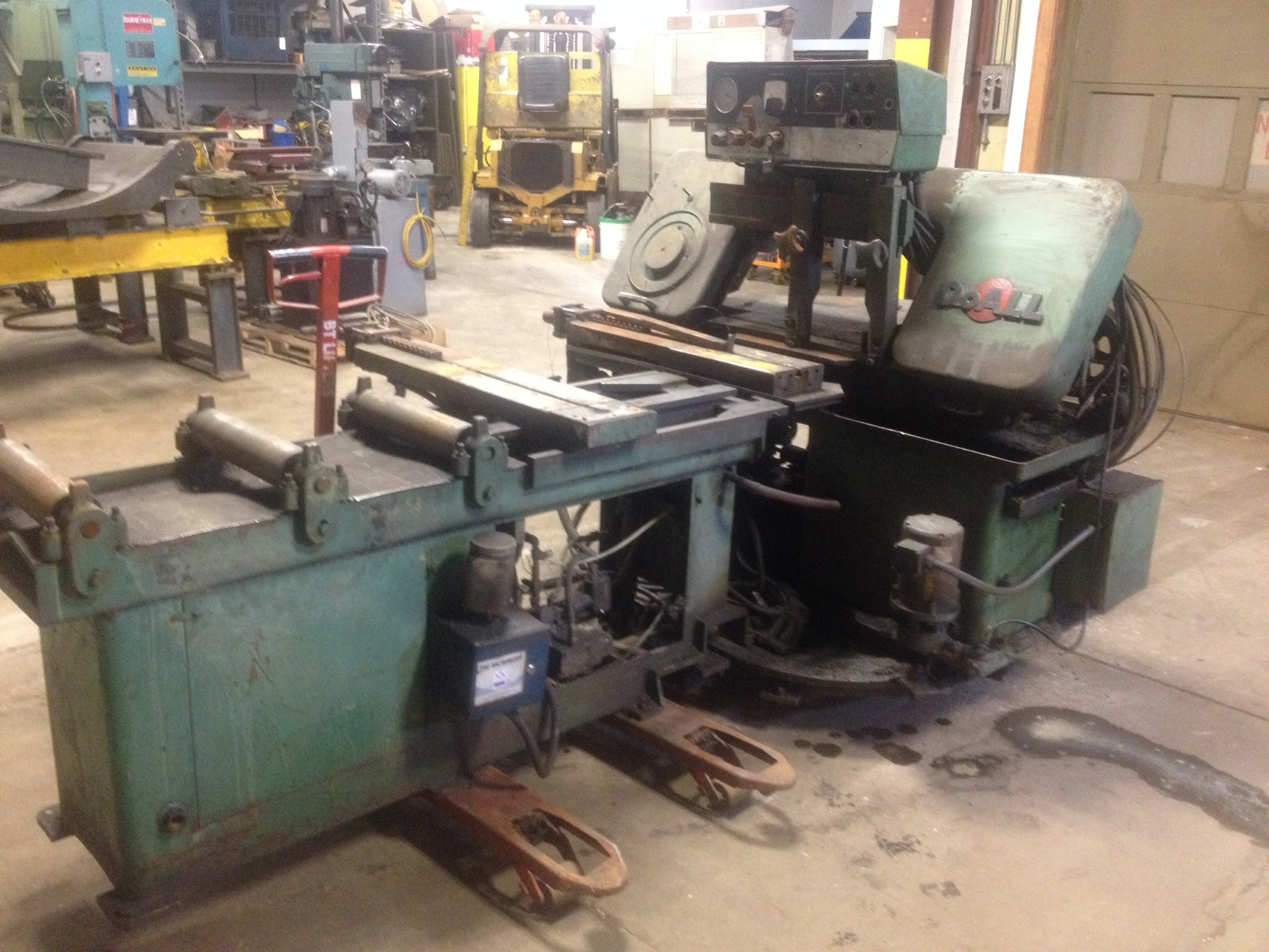 Doall C-170 Horizontal Automatic Bad Saw
