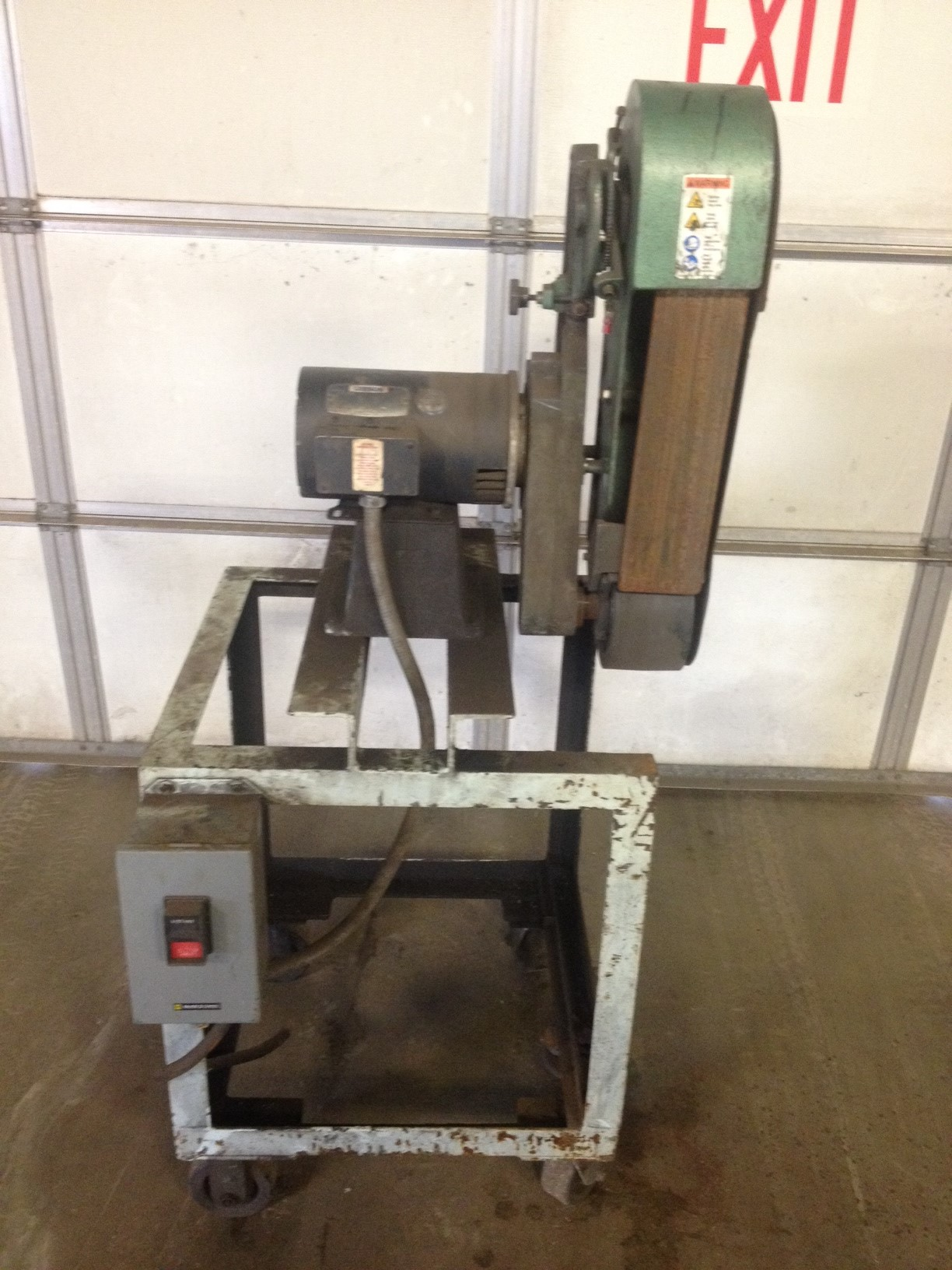 "Burr King Industrial Belt Sander 4"" Belt"
