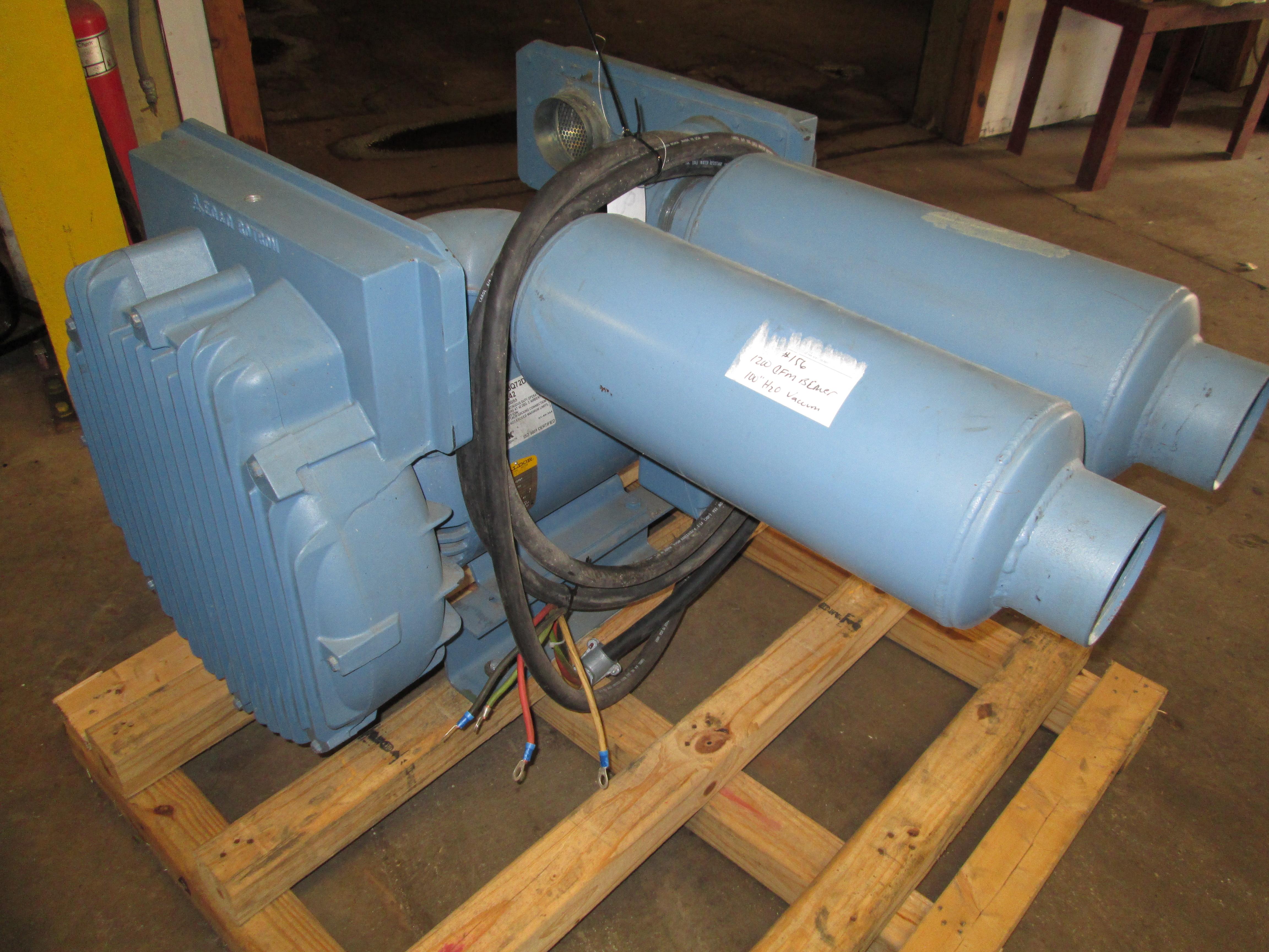 1200 CFM Blower/Vacuum Pump