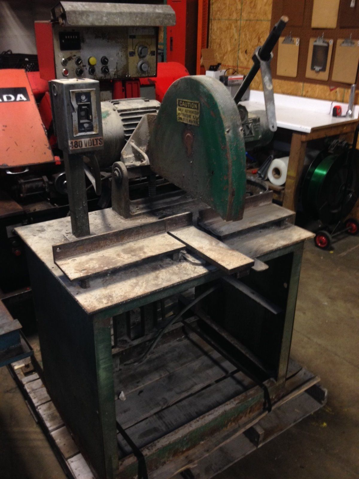 "MAX 14"" Cutoff Machine"