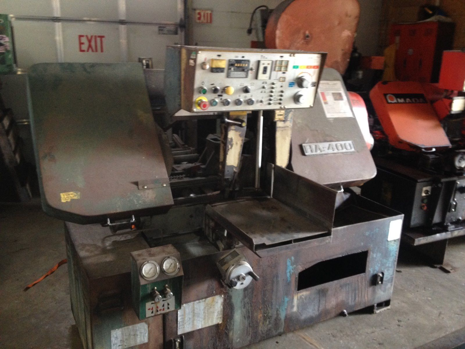 Amada HA-400 Horizontal Band Saw