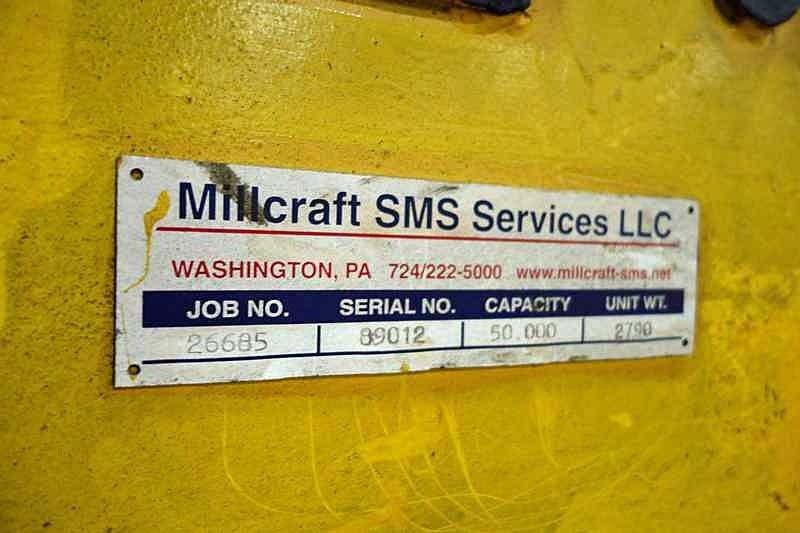 """50,000# x 48"""" SMS Coil Grab Coil Lift"""